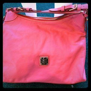 Dooney & Bourke large shoulder slouch handbag